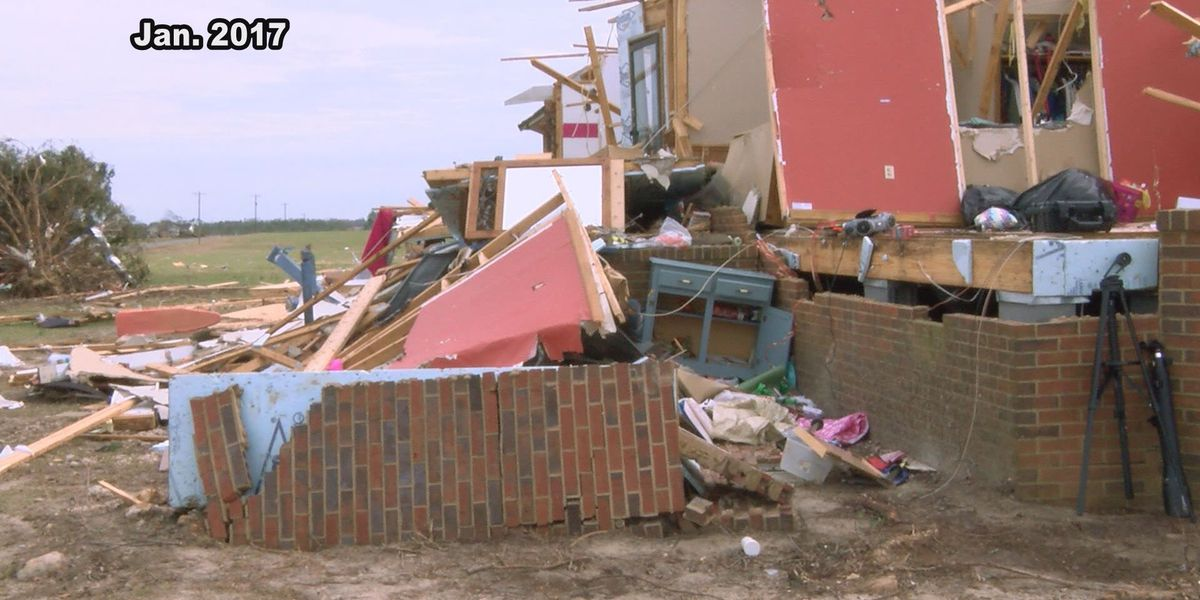Husband remembers rescuing wife after 2017 tornado destroyed their home