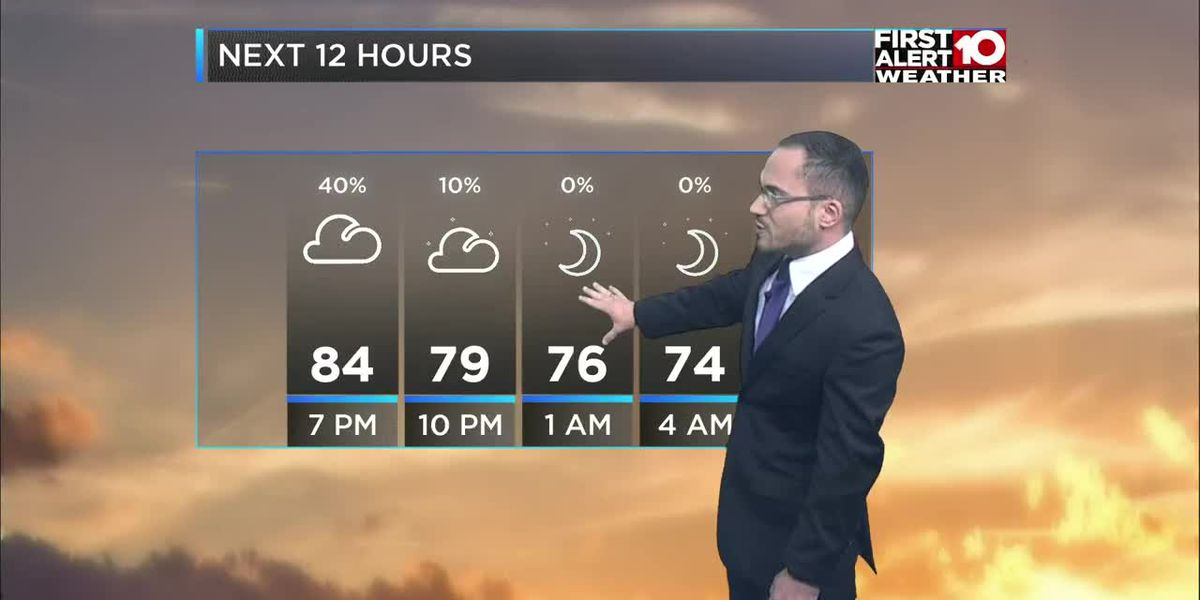 First Alert Forecast Saturday evening