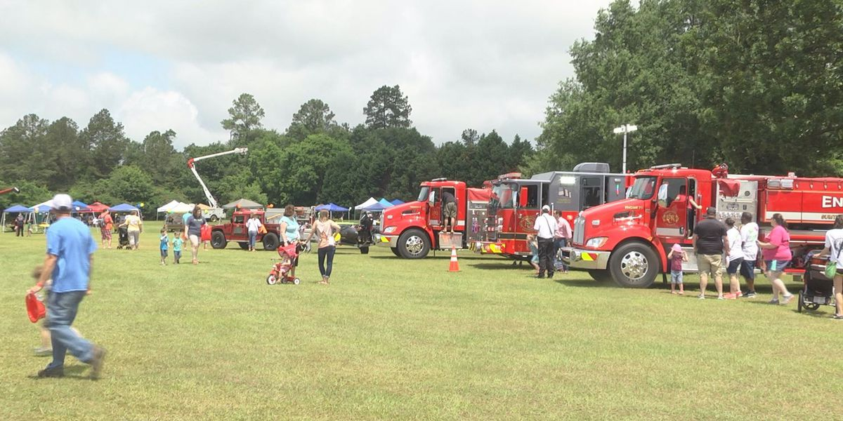 Mighty Machine events shows off county trucks for community