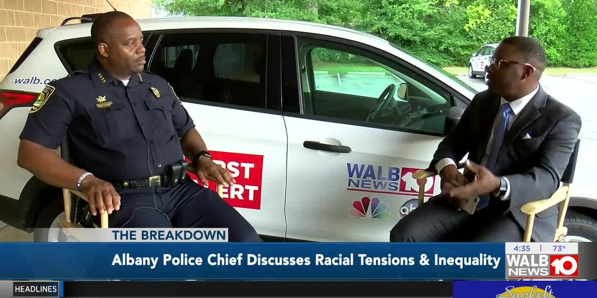 The Breakdown: Albany Police Chief discusses racial tensions & inequality