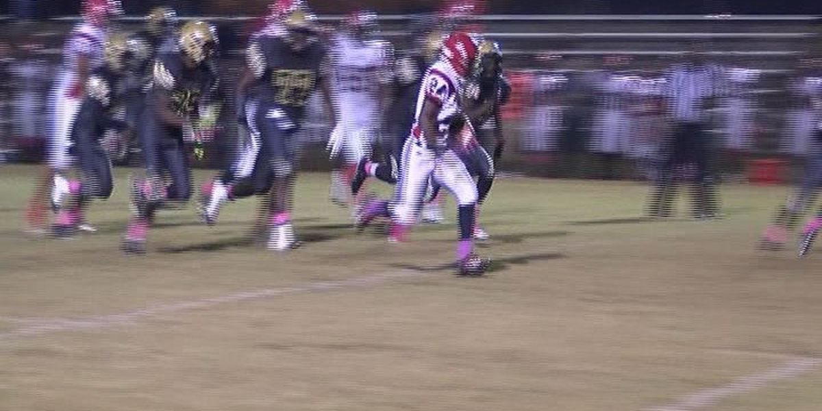 WALB PLAY OF THE WEEK (11/2/15): Red Devils' Starling fumbles, recovers, scores