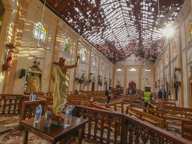 Sri Lanka military gets special powers after deadly bombings