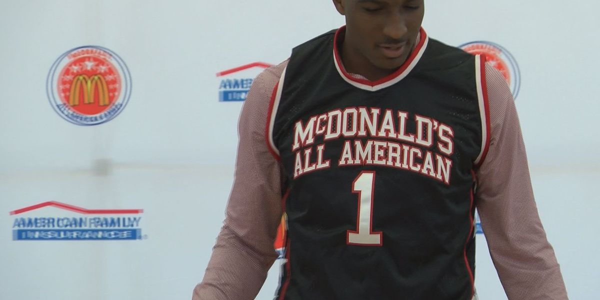 Perry awarded honorary jersey ahead of McDonald's All American Game