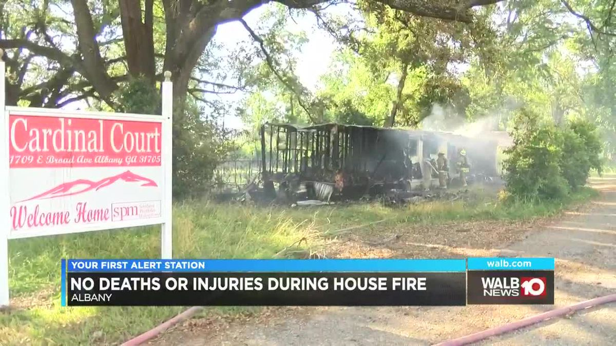 Albany house fire under investigation