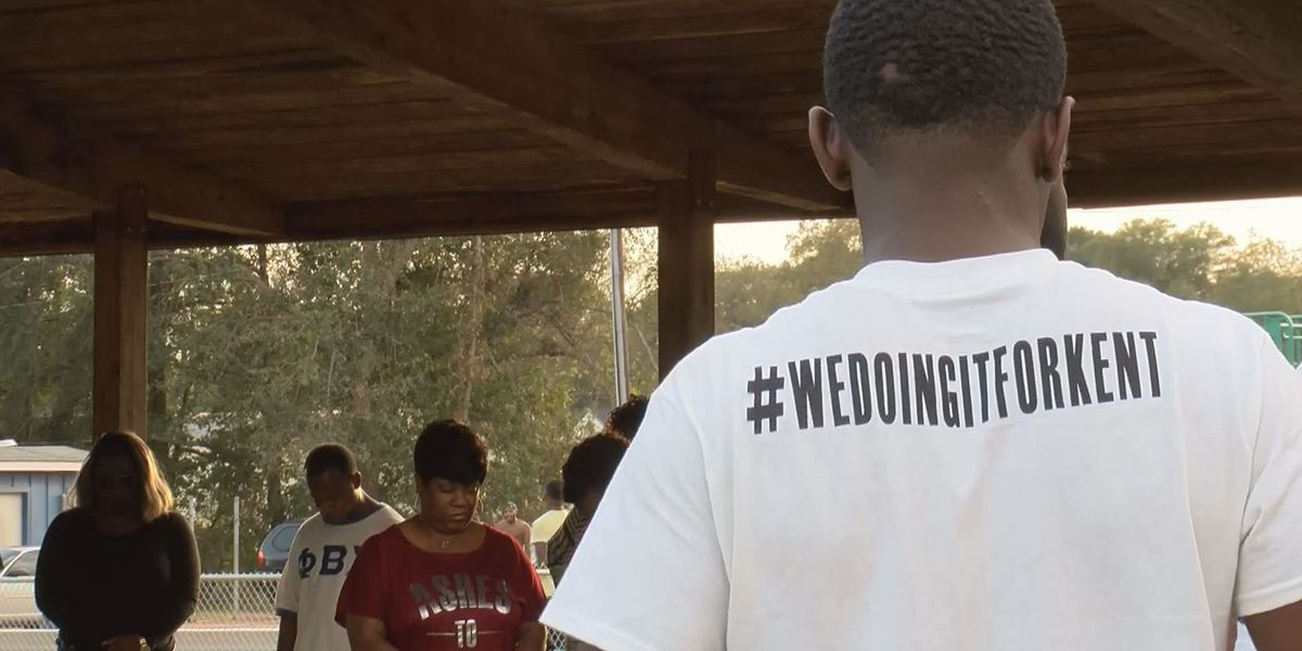Sumter Co. murder victim's mother speaks at 'Stop the Violence' rally