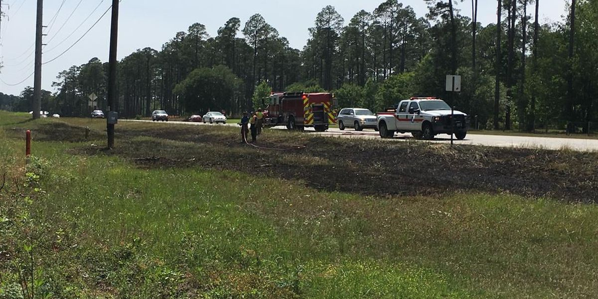 AFD responds to grass fire outside of Chehaw