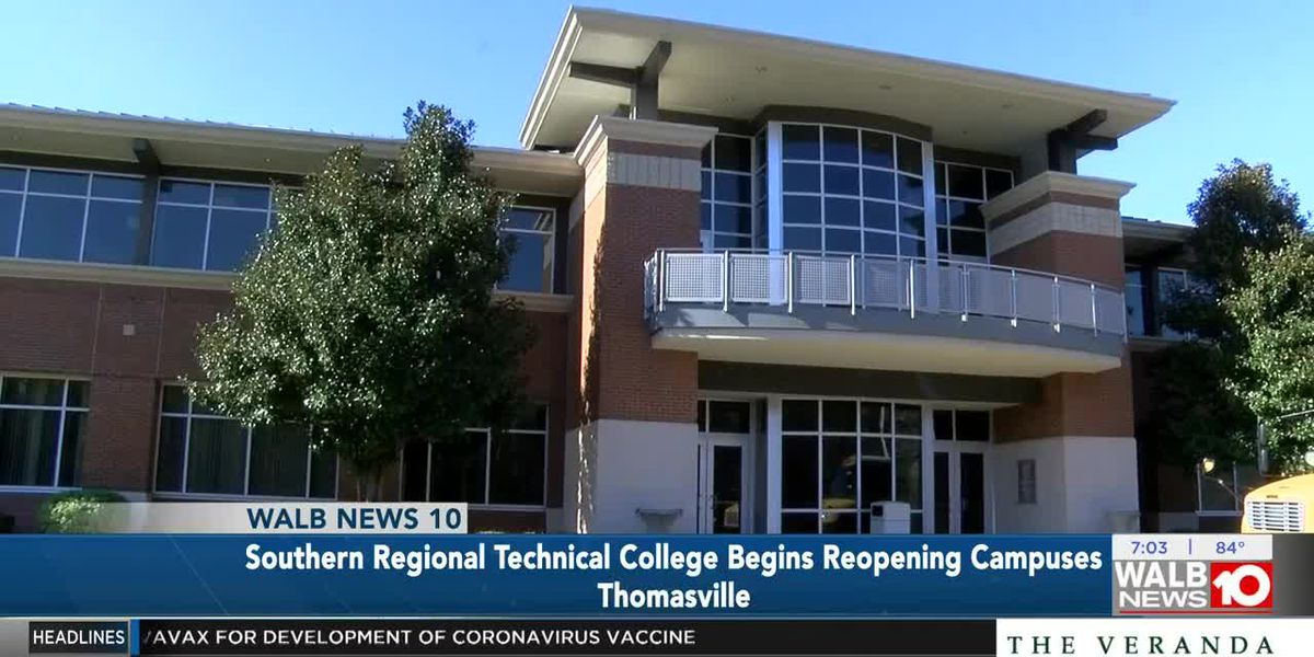 Southern Regional Technical College begins reopening campuses