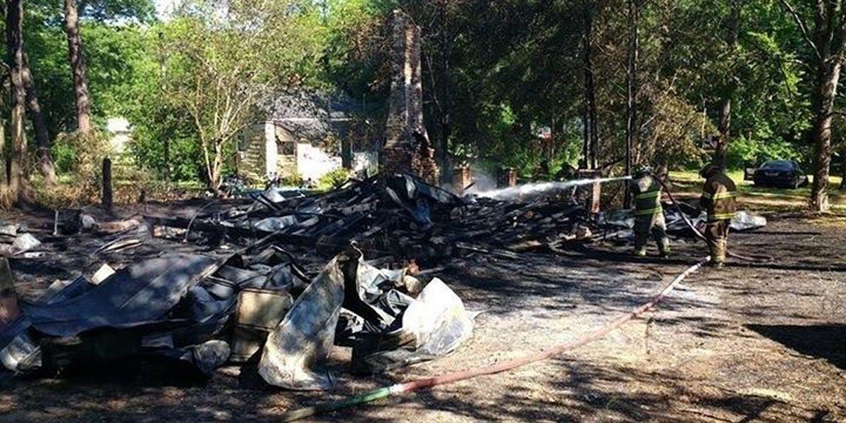 Bainbridge house destroyed in morning fire