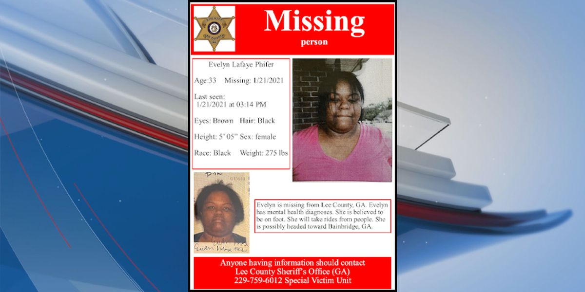 UPDATE: Missing Lee Co. woman found safe