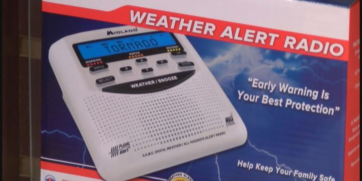 Weather radios help prepare for severe weather