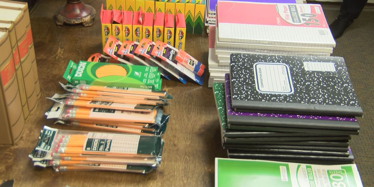 Terrell Co. Sheriff's Office hosts school supply giveaway