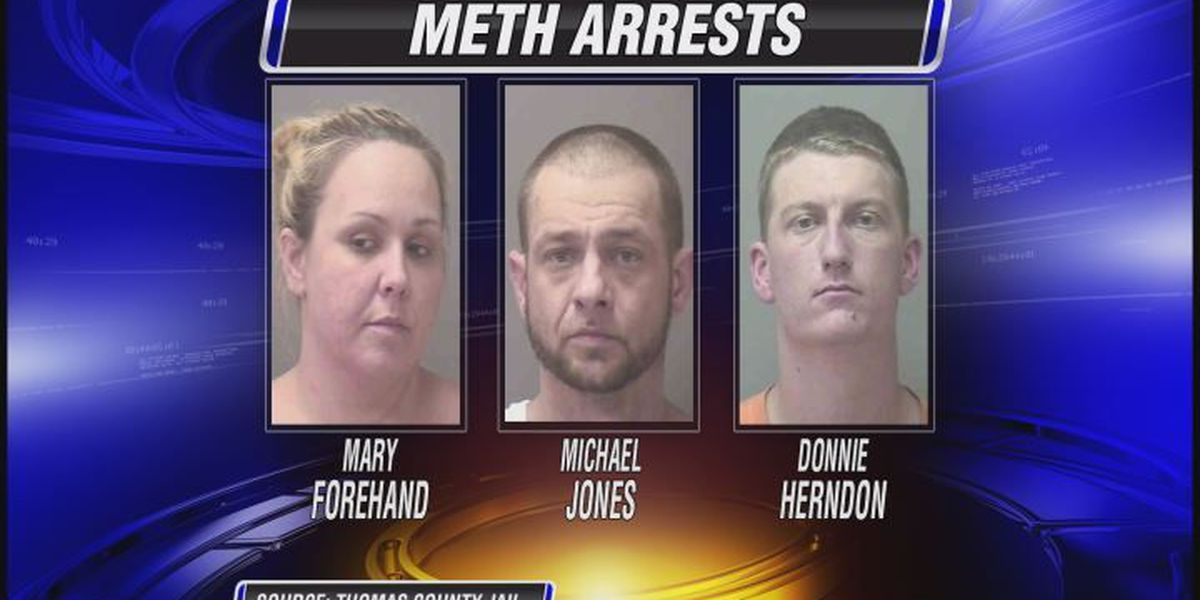 3 suspected drug dealers locked up in Thomas co.