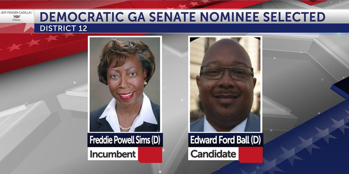 Voters select Democratic Ga. Senate District 12 nominee