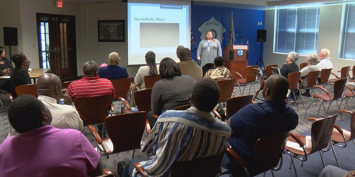 Albany leaders met to discuss mental health