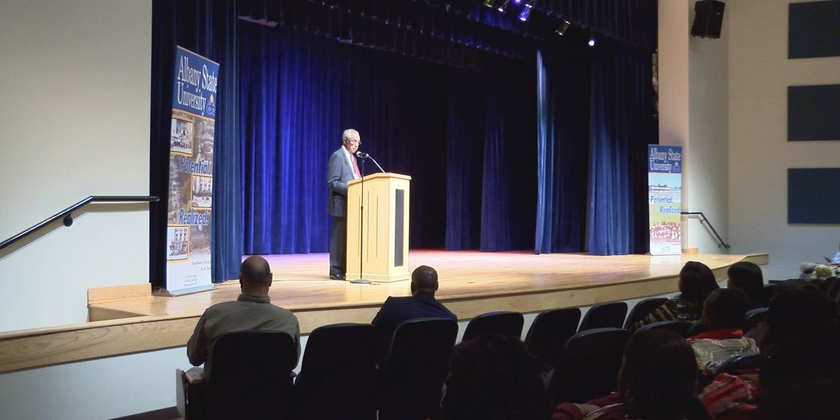 ASU President Dunning gives first address since consolidation