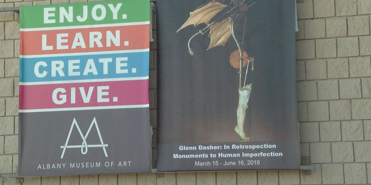 Glenn Dasher exhibit opens at Albany Museum of Art