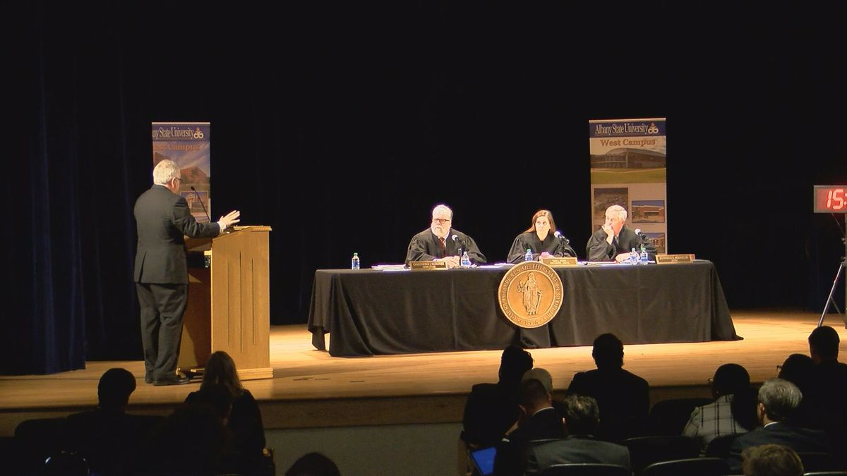 Georgia Appeals Judges speak to Albany students