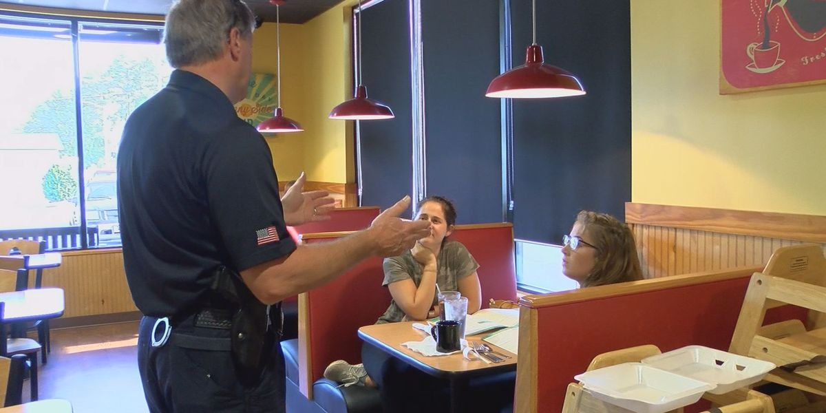 APD celebrates annual 'Coffee with a Cop' event