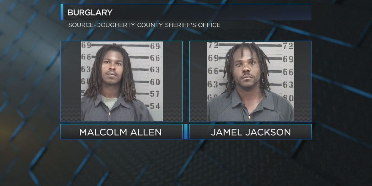 Two men caught stealing copper at abandoned Albany house