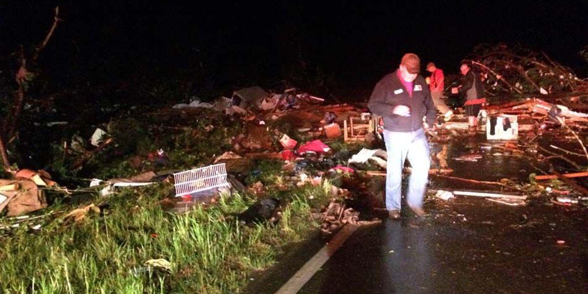 Strong storms leave several injured, homes damaged