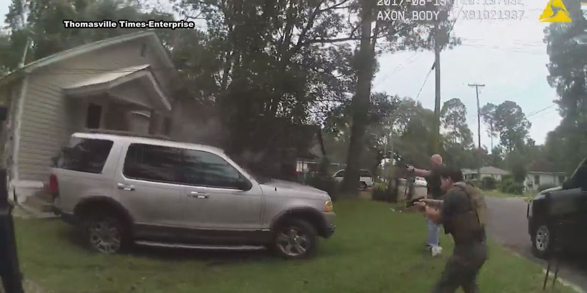Body cam footage released in fatal Thomasville deputy--involved shooting