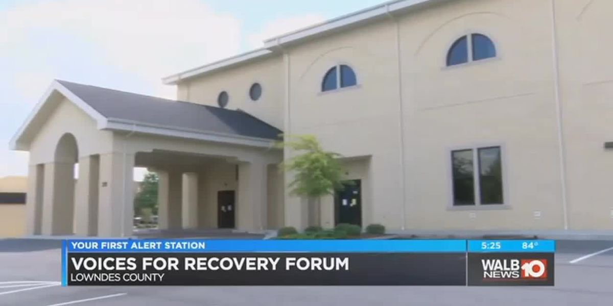 Voices for Recovery forum