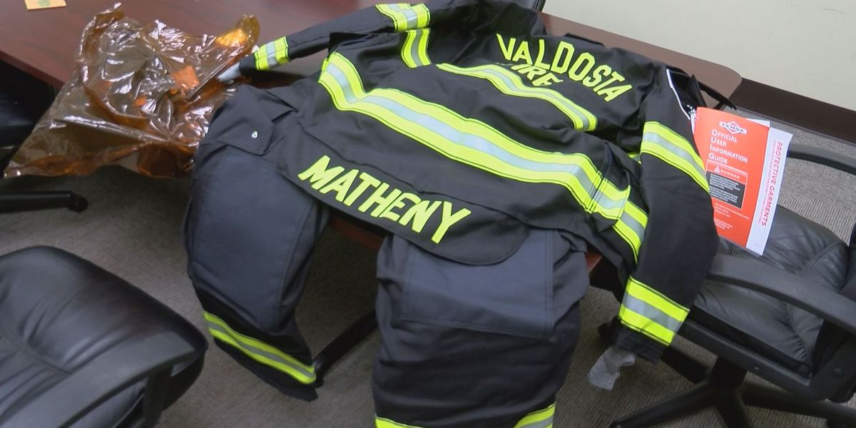 Valdosta Fire gets thousands of dollars worth of new gear