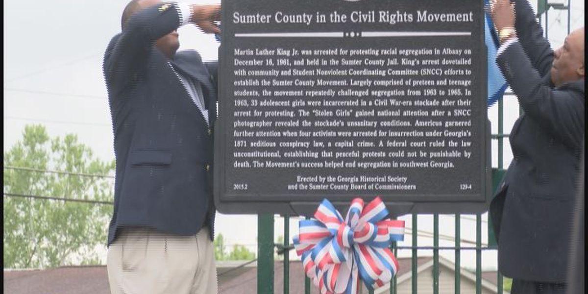 Sumter Co. celebrates new historical marker
