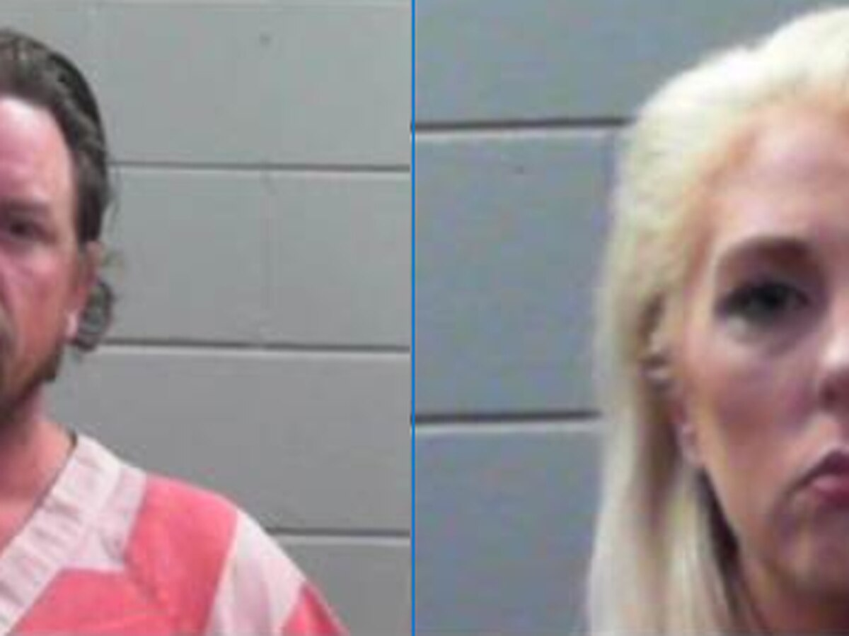 Couple arrested after husband posts video of himself driving
