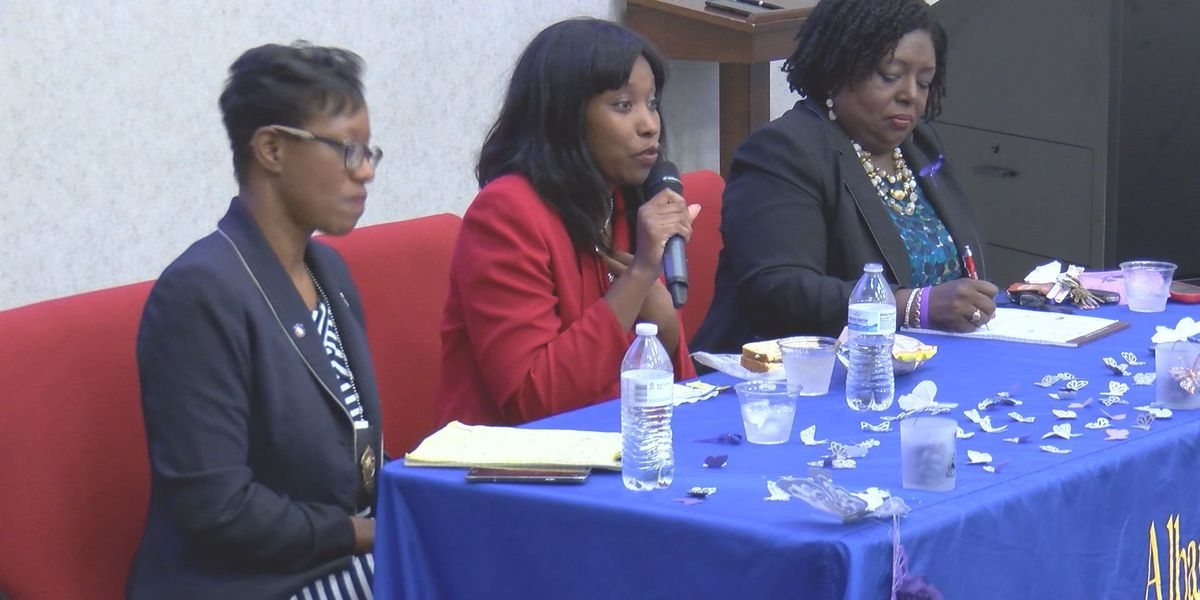 Liberty House hosts Lunch and Learn for domestic violence awareness