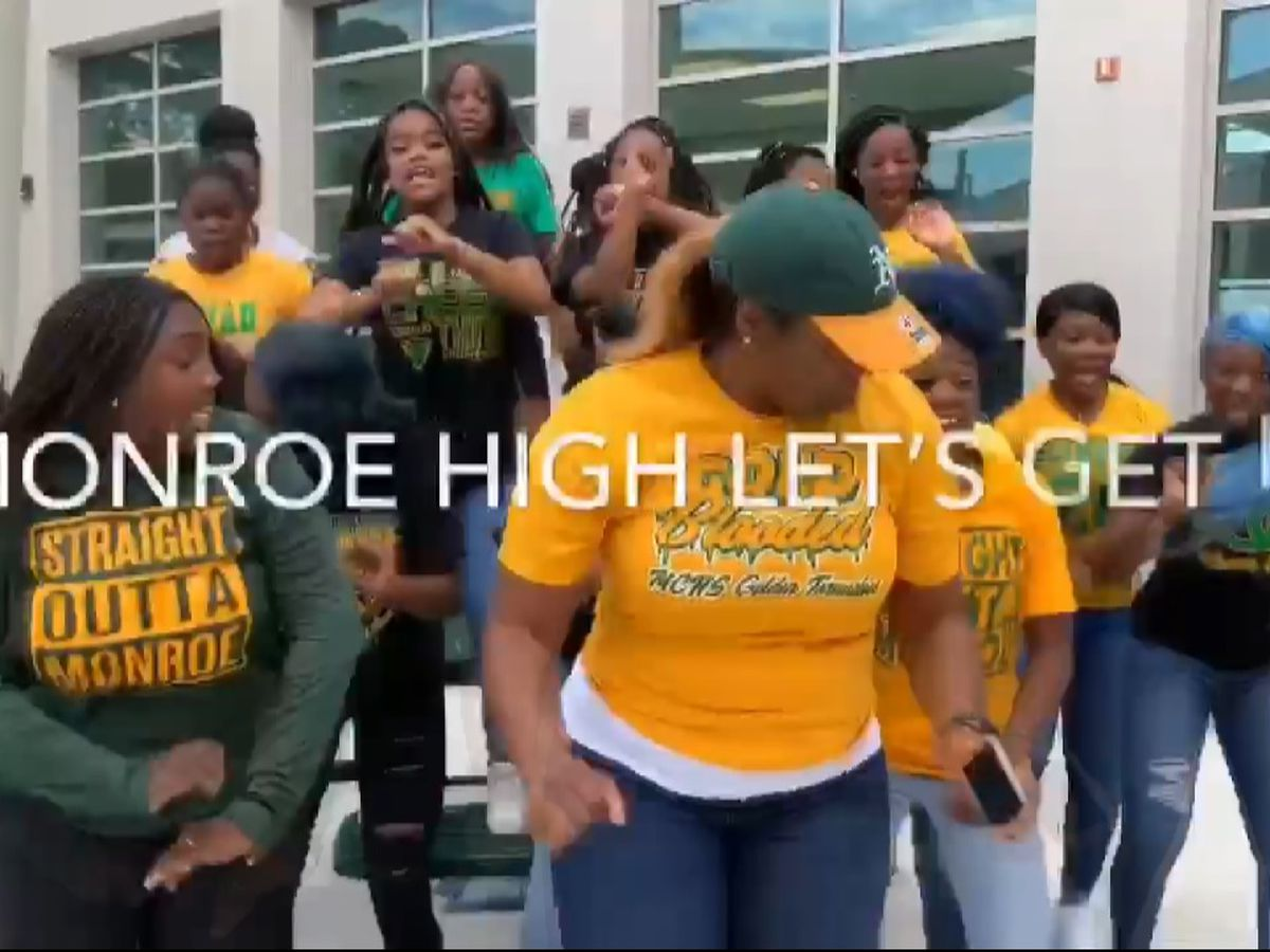 Monroe High teacher gets students excited for school with viral rap video
