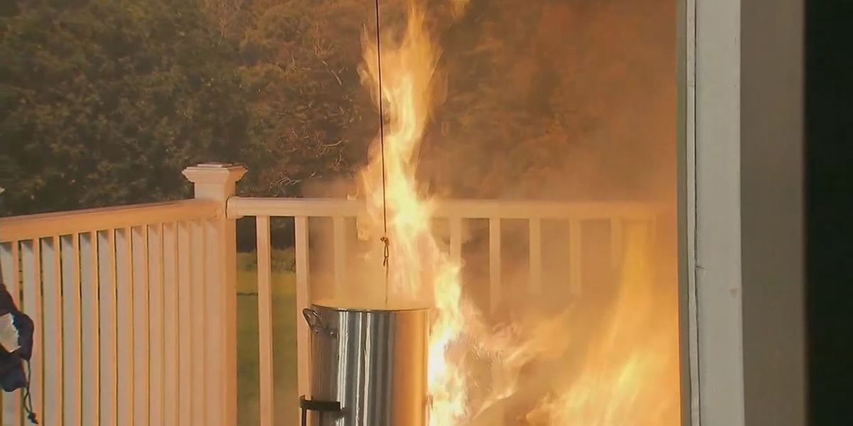 Know the risk before deep frying the Thanksgiving turkey