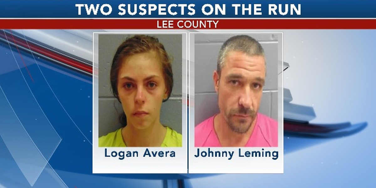 Suspects on the run from law enforcement