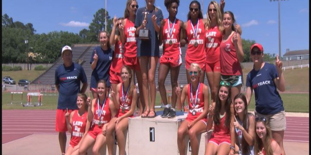 Lady Knights claim back-to-back titles on the track