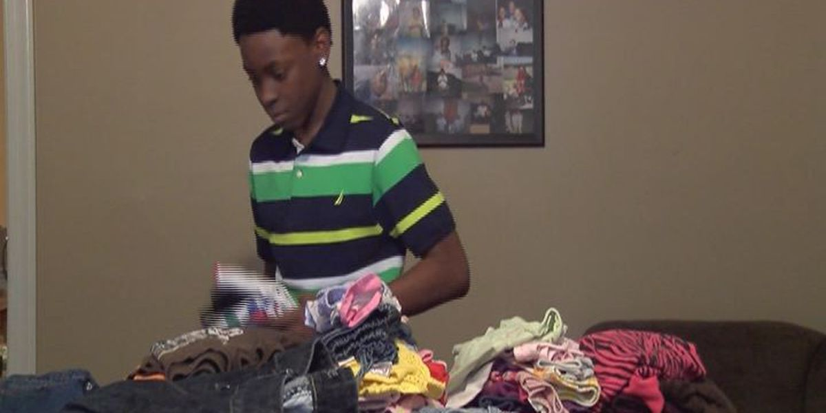 Terrell Co. teen to give away collected clothes