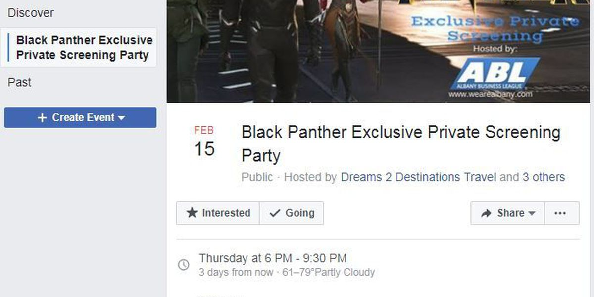 Albany Business League celebrates Black History Month with screening party