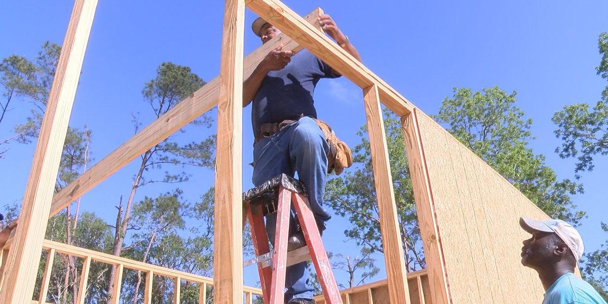 Thomas Co. volunteers help rebuild storm victim's home