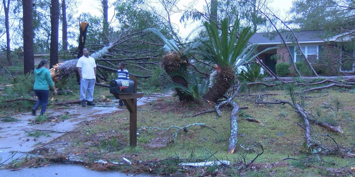 Albany family rocked by severe weather