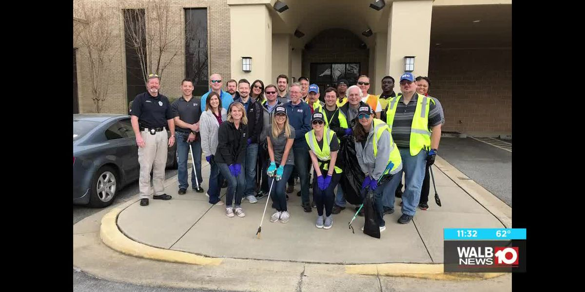 WALB Litter Cleanup