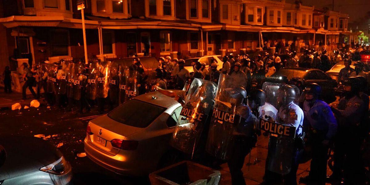 GRAPHIC: Philadelphia police shooting of Black man sparks unrest