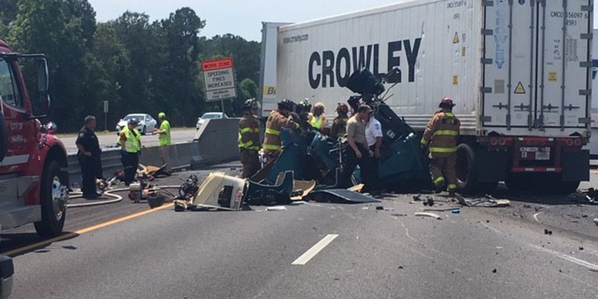 2 semi-trucks involved in second Thursday I-75 crash