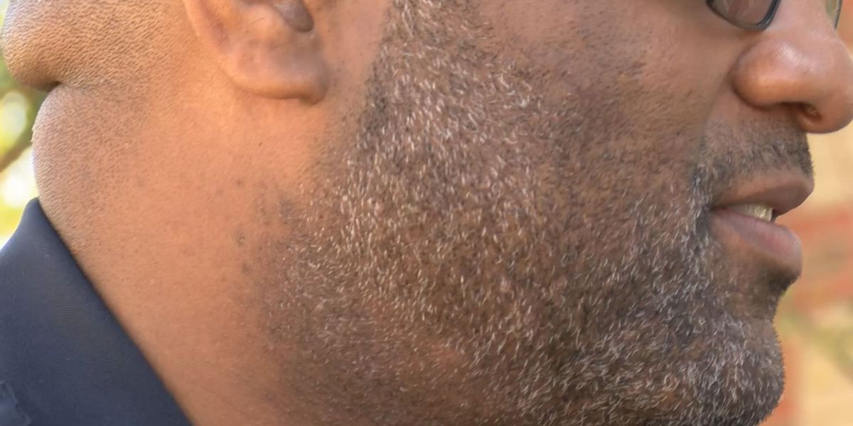 ASU officers grow beards for domestic violence victims