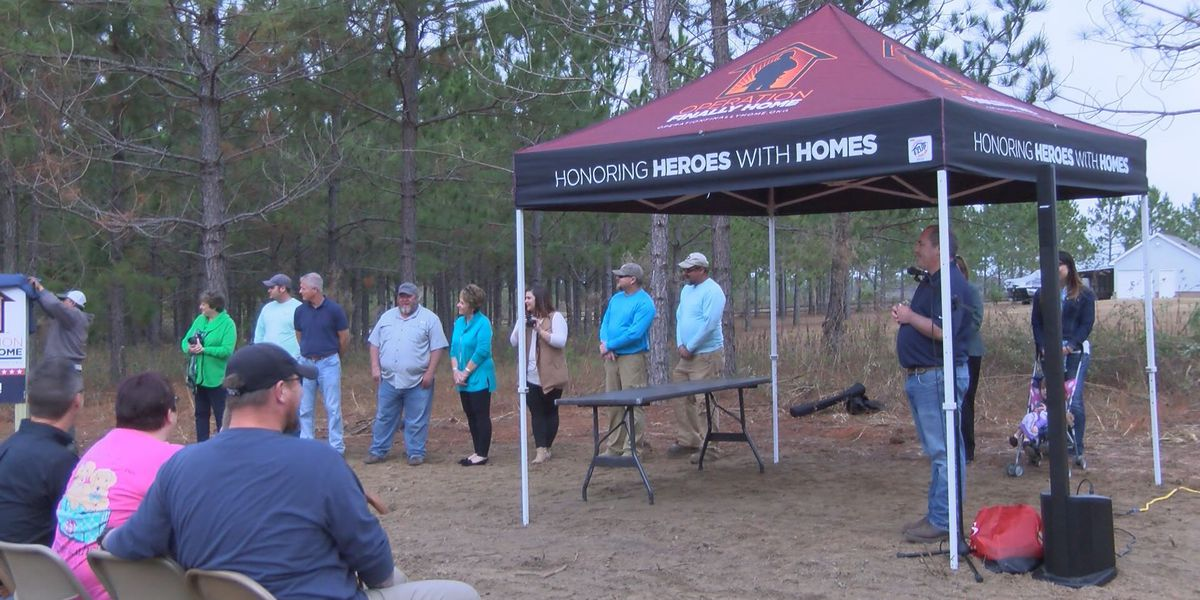 Operation Finally Home building a forever home for one Tifton veteran