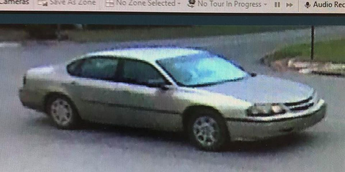 Wilcox Co. Sheriff's Office looking for info on car used in bank robbery