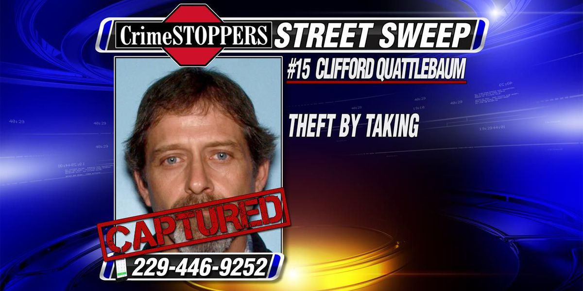 CrimeSTOPPERS Street Sweep continues to work to capture the most wanted fugitives