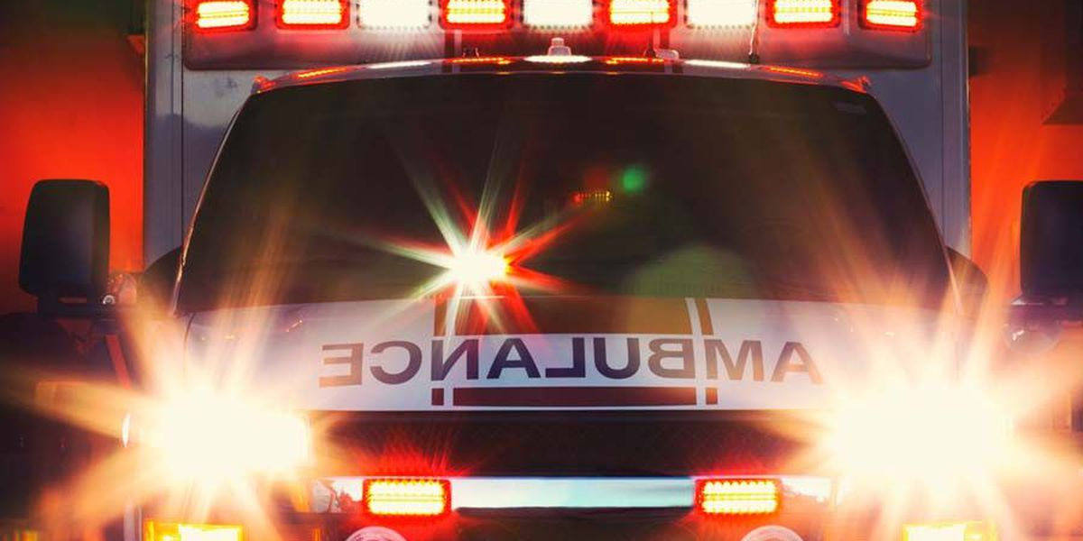 Single car wreck sends driver and passengers to hospital