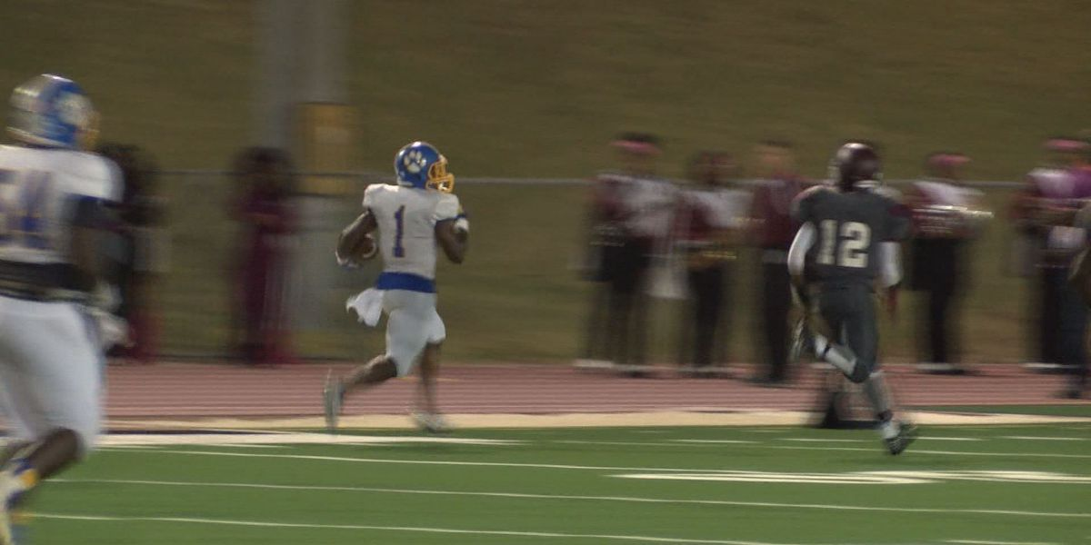WALB PLAY OF THE WEEK (10/31/16): Crisp's Dowdell provides only treats, no tricks for Cougars