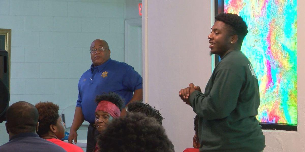 Job Corps students join community violence conversation