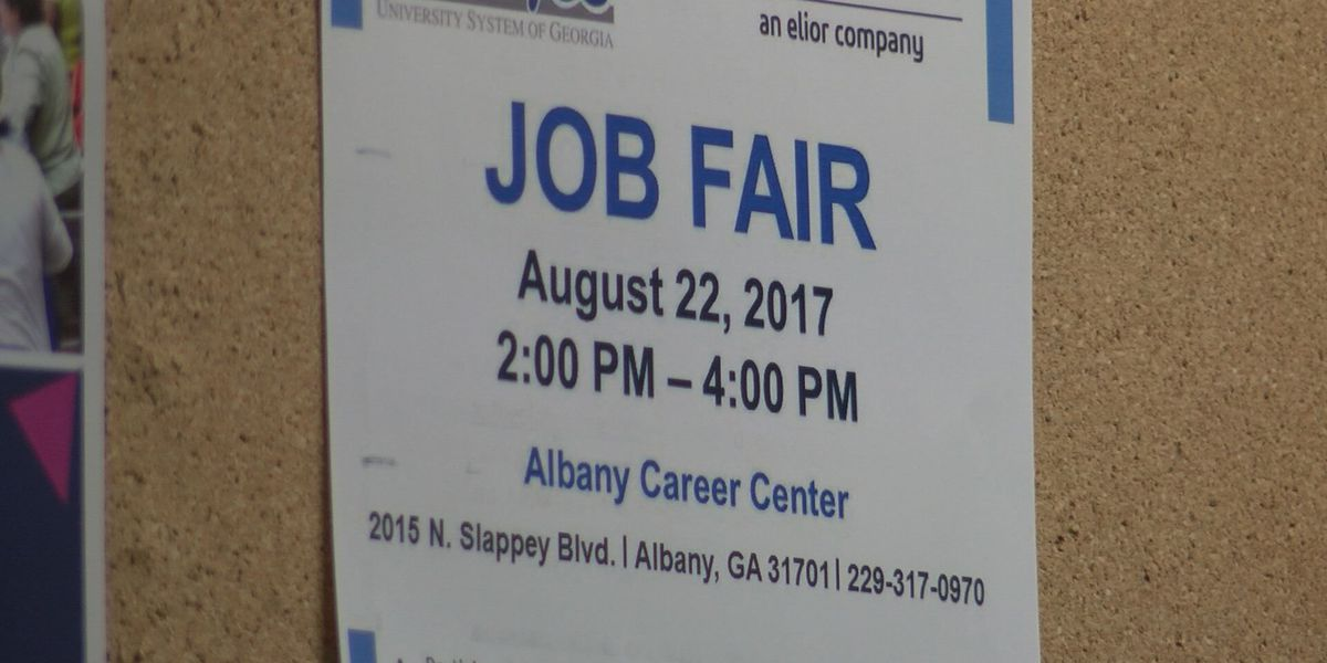Dozens of jobs up for grabs at Goodwill job fair