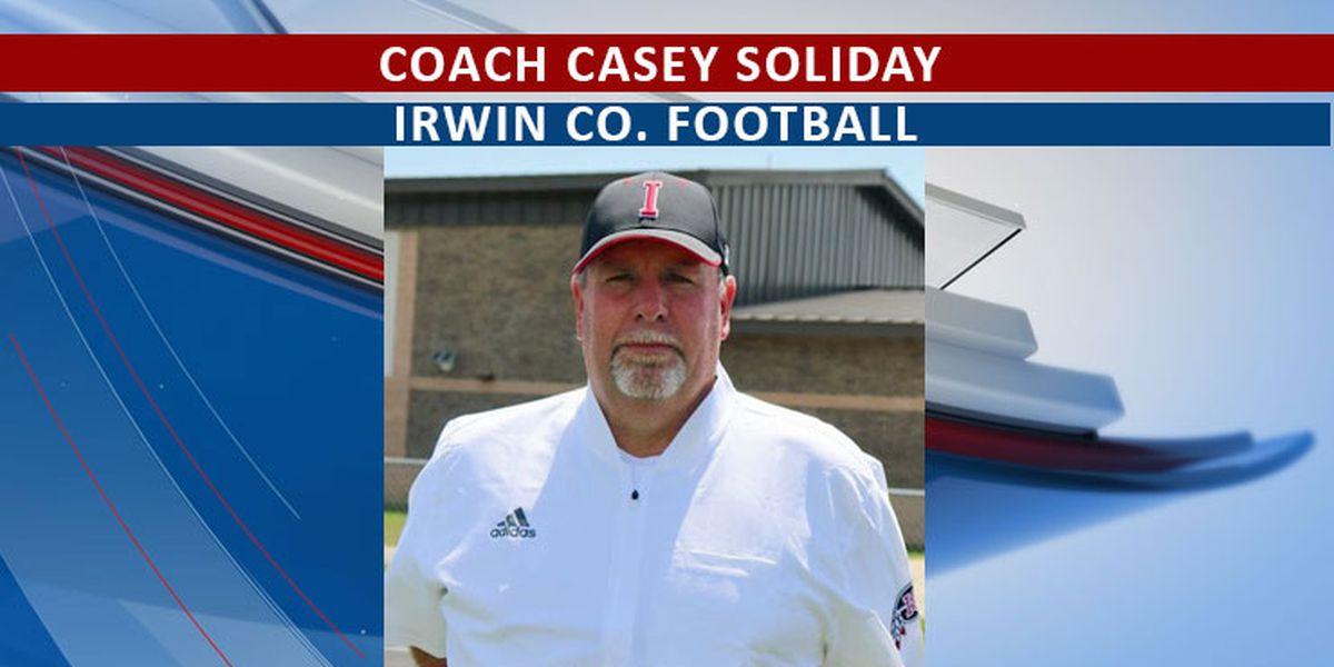 Irwin Co. head football coach tests positive for flu, COVID-19